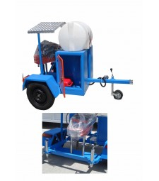 Römorklu Asfalt Karot Makinası